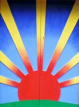 Sunshine Shed door 3