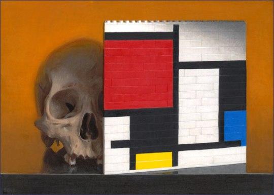 Lego Mondrian