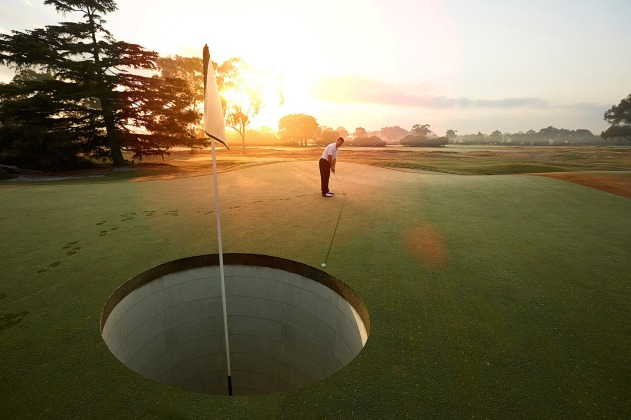 golf+horizontal